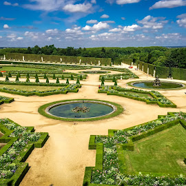 Versailles Garden by Mike Hotovy - Instagram & Mobile iPhone