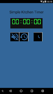 Simple Kitchen Timer (Paid) - screenshot
