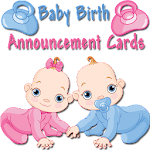 Baby Birth Announcement Cards APK Image
