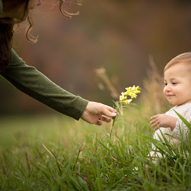 Flower by Mike DeMicco - Babies & Children Child Portraits