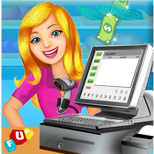 Supermarket Cash Register Sim: Manager & Cashier