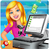Supermarket Cash Register Sim: Manager & Cashier