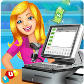 Game Supermarket Cash Register Sim APK for Kindle