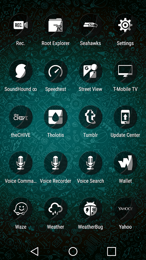 Naz Transparency - Icon Pack Screenshot 7