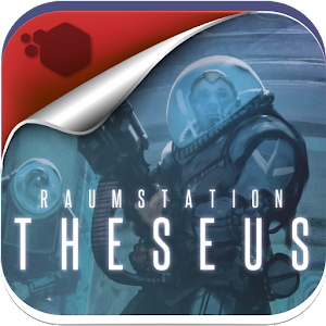 Cover art Raumstation Theseus