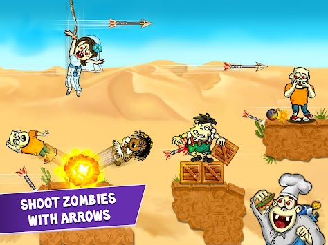 Archery Blitz - Shoot Zombies APK screenshot thumbnail 6