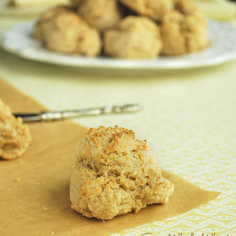 Easy Whole Wheat Drop Biscuits (Ready in about 20 minutes!)