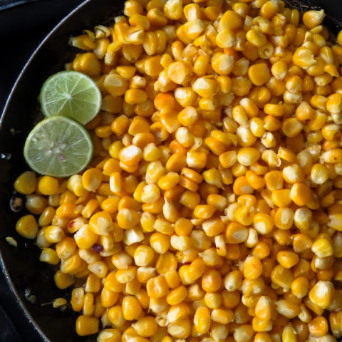 Corn With Lime And Butter