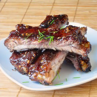 Honey Garlic Sticky Ribs