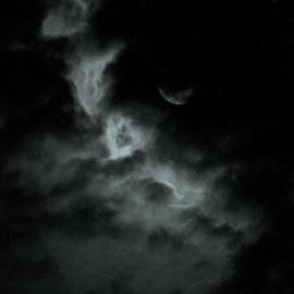 Moon Chakras by Buddhaditya Padhi - Landscapes Cloud Formations
