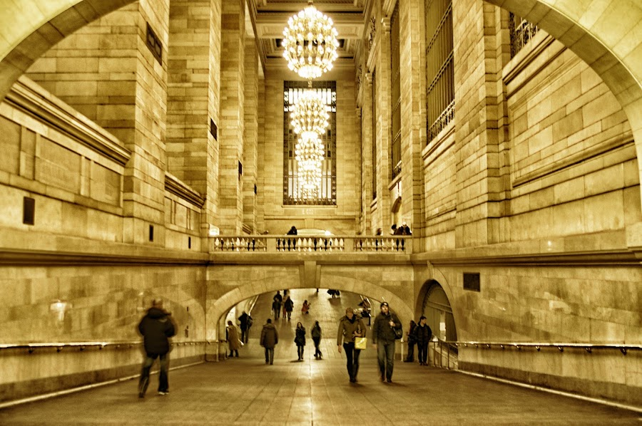by Stevenson Martin - Buildings & Architecture Public & Historical ( grand central, path )