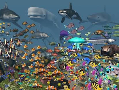 VR Ocean Aquarium 3D screenshot for Android