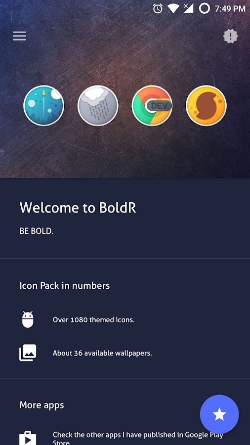 BoldR - Icon Pack(SALE!) Screenshot 2