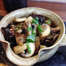 Champiñones al Ajillo ~ Spanish Garlic Mushrooms