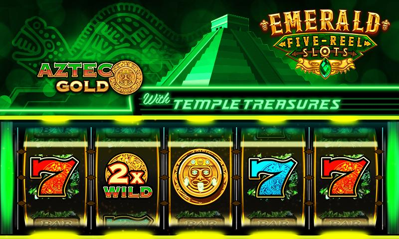Emerald 5-Reel Free Slots Screenshot 1