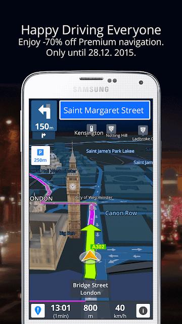 GPS Navigation & Maps Sygic screenshots