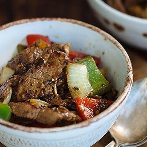 Garlic And Black Pepper Beef
