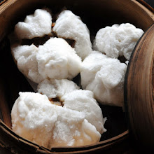 Dim Sum Fluffy Char Sui Buns and Emerald dumplings