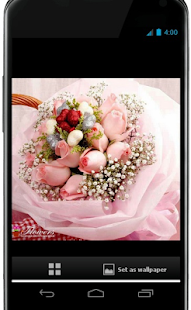 Roses and flowers - screenshot