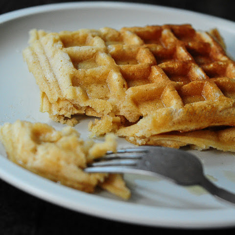 Eggless Whole Wheat Waffles