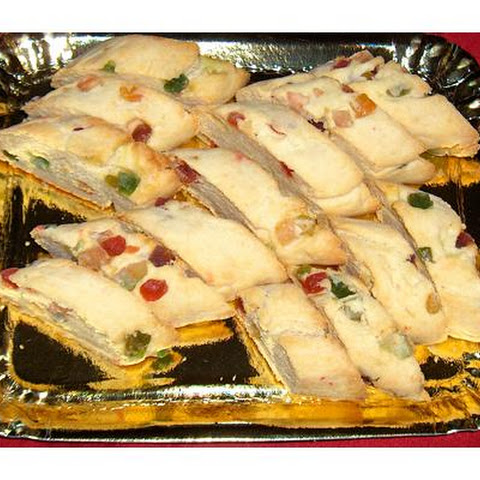 A Holiday Candied Fruit Biscotti