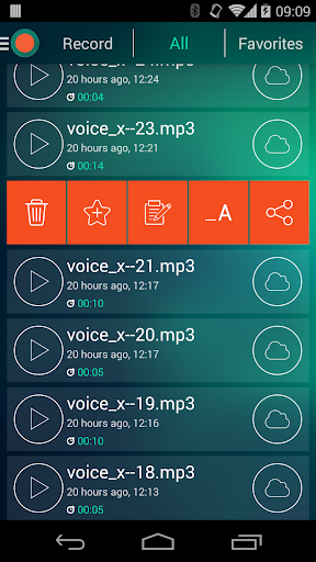 Voice Recorder - Dictaphone screenshot 5