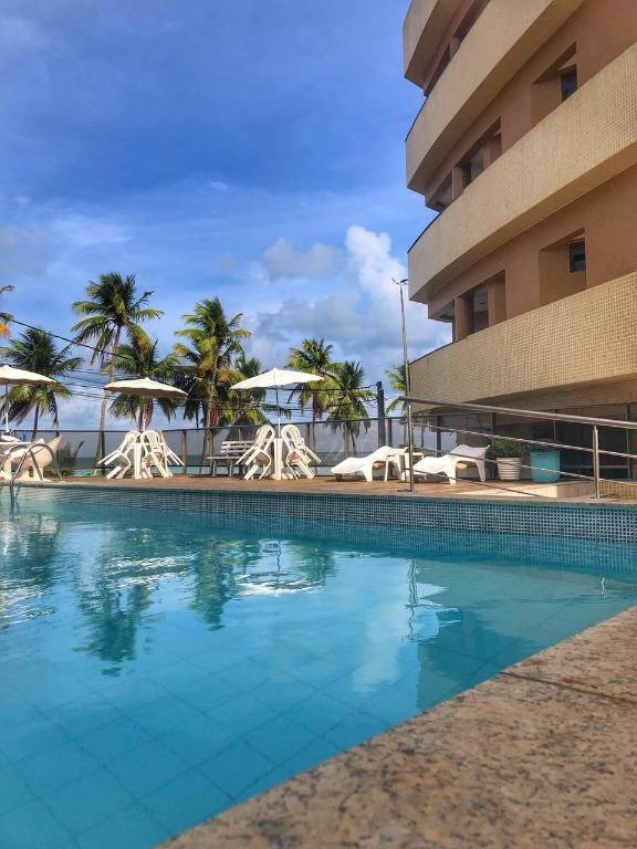 Flat com 1 dormitório para alugar, 38 m² por R$ 1.800,00/mês - Cabo Branco - João Pessoa/PB