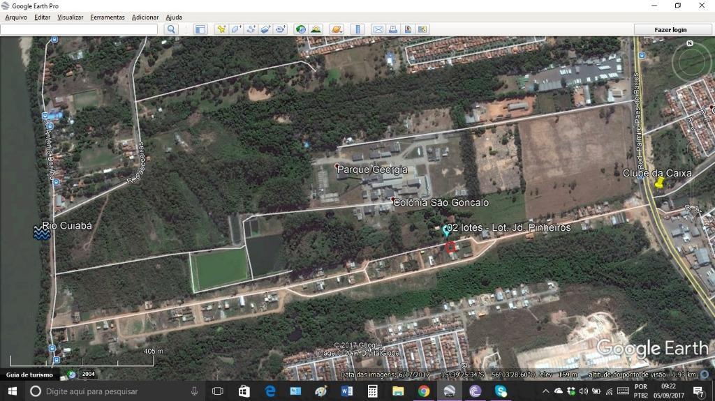 Terreno residencial à venda, Três Barras, Cuiabá.