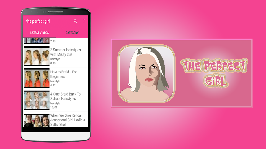 The perfect girl APK