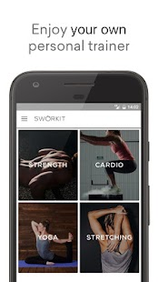 Sworkit: Workouts & Fitness Plans Screenshot