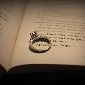 Always by Shannon Sommers - Wedding Details ( ring, color, wedding, harrypotter, book, always, engagement,  )