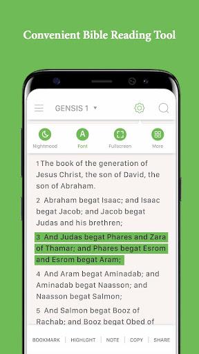 KJV - King James Bible, Audio Bible, Free, Offline For PC