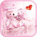 Cute bear theme love wedding APK for Bluestacks