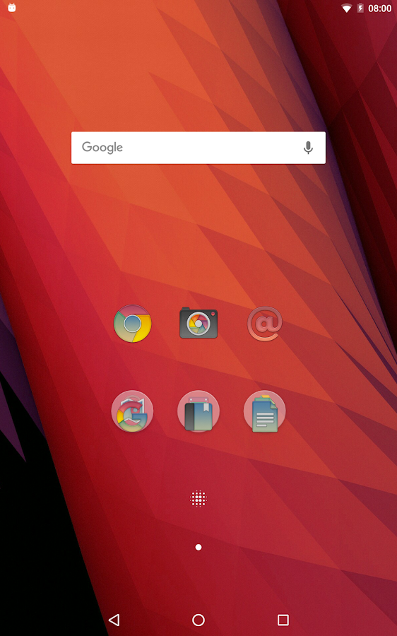 Redux Beta - Icon Pack Screenshot 5