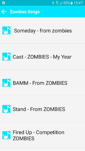 All Songs Zombies 2018 For PC