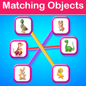 Educational Matching the Objects - Memory Game For PC (Windows & MAC)
