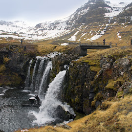 Kirkjufellsfoss by Hraunið      Hekla - Landscapes Travel ( kirkjufellsfoss, iceland, snaefellsnes, waterfall )