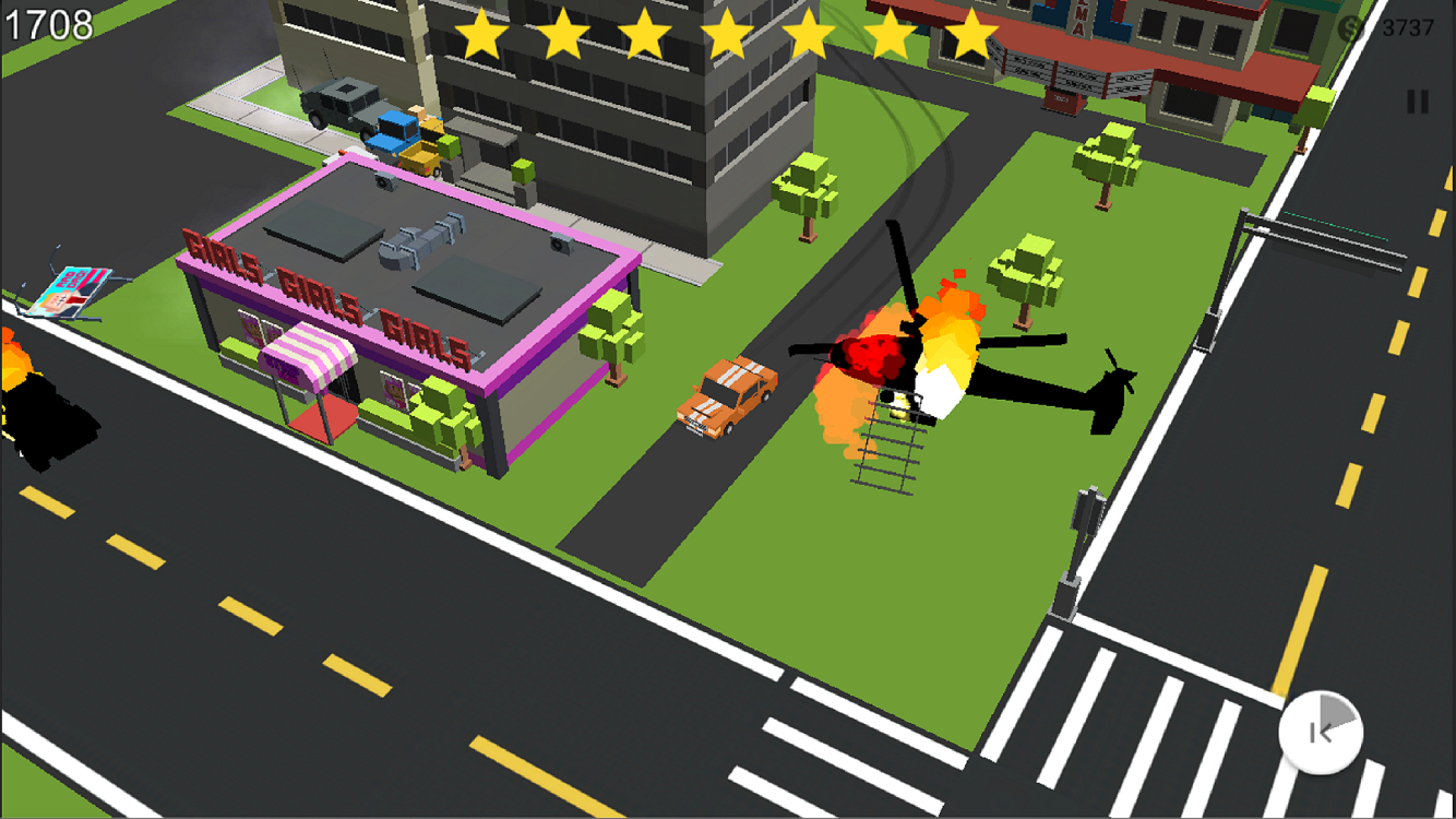 Crazy Racing: Cops Smasher Screenshot