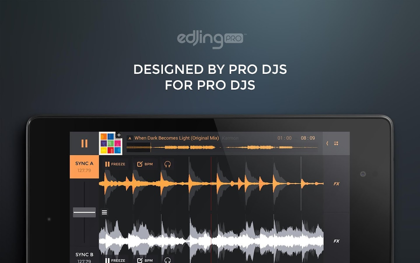 edjing PRO - Music DJ mixer Screenshot 10