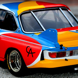 Art and Sports by Bruno Brunetti - Artistic Objects Toys ( miniatures, 3.0 csl by alexander calder, art cars, bmw )