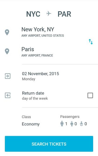 Discount Flights Screenshot