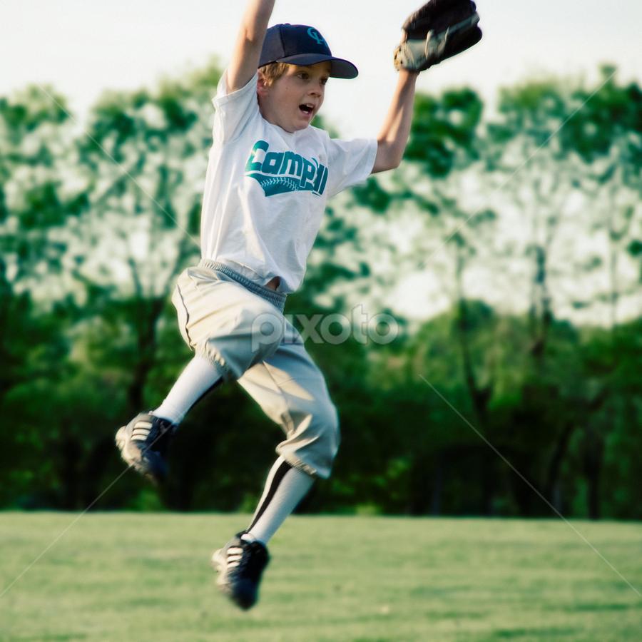 by Tom Sabin - Sports & Fitness Baseball ( child, littleleague, baseball, youth )