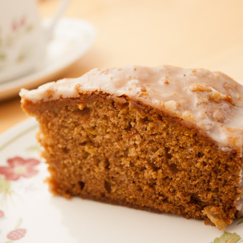 Honey, Lemon, and Spice Cake