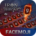 Ice & Fire Iron Throne Emoji Keyboard Theme APK for Bluestacks