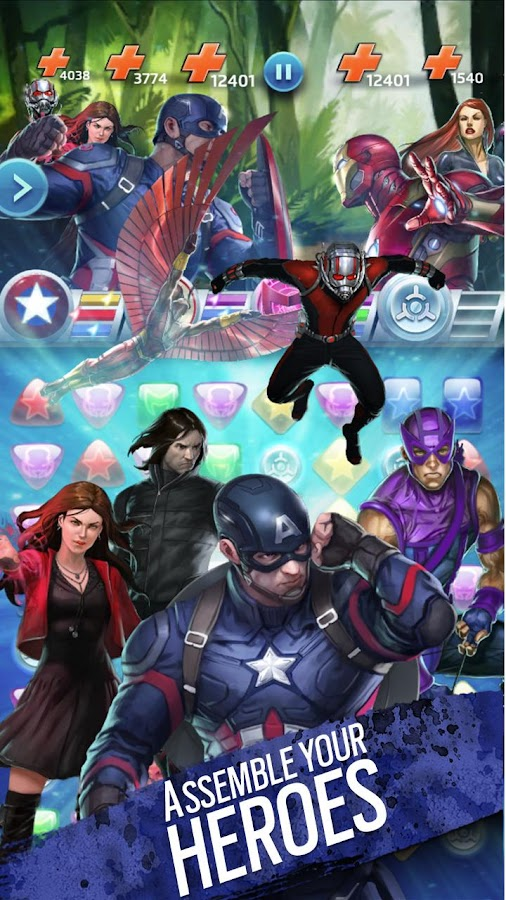 Marvel Puzzle Quest Screenshot 3