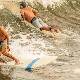 Different Directions by Prentiss Findlay - Sports & Fitness Surfing ( surfing, ocean surfing, beach surfing, sea, ocean )