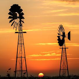 Sunripe  by Stefan Klein - Uncategorized All Uncategorized ( clouds, nature, beautiful, sunrise, windmill )