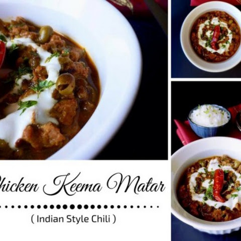 Chicken Keema Matar - Indian Style Chili