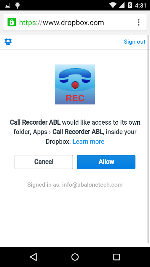 Call Recorder Pro Screenshot 2