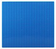 Пластина Baseplate для конструкторов, синяя